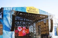 Fim de semana do atlas Fotos de Stock