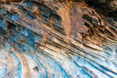 Fim de superfície da rocha acima Foto de Stock
