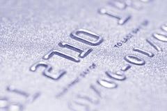 Fim do cartão de crédito acima foto de stock