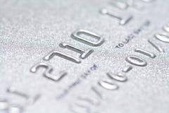Fim do cartão de crédito acima fotografia de stock