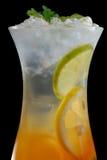 Fim do chá de gelo acima Imagens de Stock Royalty Free