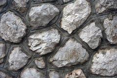 Fim do fundo da parede de pedra acima imagens de stock