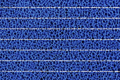 Fim do macro do detalhe da pilha de painel solar acima Fundo da energia solar foto de stock royalty free