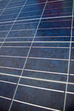 Fim do painel solar acima fotografia de stock