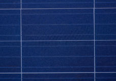 Fim do painel solar acima da imagem Fotos de Stock