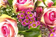 Fim do ramalhete do casamento acima Foto de Stock Royalty Free