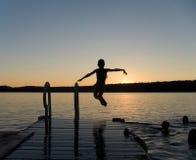 Fim do verão Imagens de Stock