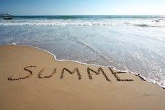 Fim do verão Imagem de Stock Royalty Free