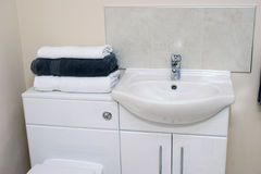 Fim do Washroom Fotografia de Stock