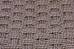 Fim do weave de Baket acima Foto de Stock Royalty Free