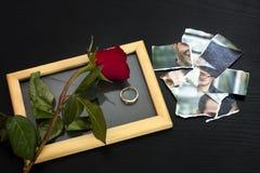 Fim dos Valentim do divórcio do amor Fotos de Stock