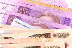 Fim europeu do dinheiro acima Imagens de Stock