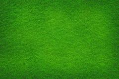 Fim extremal da superfície do grunge de feltro do verde acima fotografia de stock royalty free