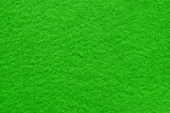 Fim extremal da superfície da tabela de feltro do verde acima imagem de stock