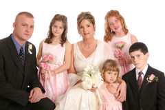 Fim horizontal do partido de Wed Imagens de Stock Royalty Free