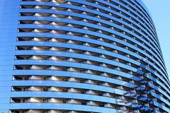 Fim moderno do edifício acima da vista Foto de Stock Royalty Free