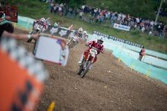 FIM Motocross World Championship MX3 2011 Senkvice Royalty Free Stock Photo