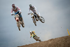 FIM Motocross World Championship MX3 2011 Senkvice Royalty Free Stock Photo
