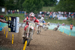 FIM Motocross World Championship MX3 2011 Senkvice Stock Photos