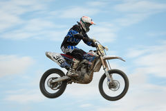 FIM Motocross World Championship MX3 2011 Senkvice Stock Image