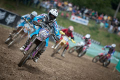 FIM Motocross World Championship WMX 2011 Senkvice Stock Image