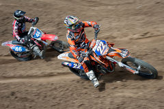 FIM Motocross World Championship WMX 2011 Senkvice Royalty Free Stock Photography