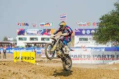 The FIM MXGP Motocross Wolrd Championship Grand Prix of Thailand Royalty Free Stock Photo