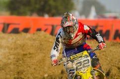 The FIM MXGP Motocross Wolrd Championship Grand Prix of Thailand Royalty Free Stock Photography