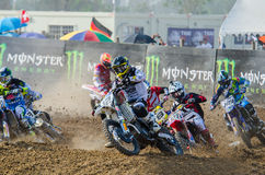 The FIM MXGP Motocross Wolrd Championship Grand Prix of Thailand Stock Photo