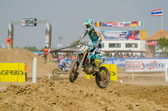 The FIM MXGP Motocross Wolrd Championship Grand Prix of Thailand Royalty Free Stock Photo