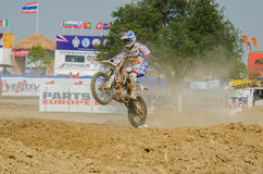 The FIM MXGP Motocross Wolrd Championship Grand Prix of Thailand Stock Photos