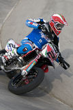 fim-nationsupermoto Arkivfoton