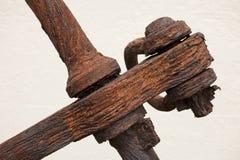 Âncora oxidada Imagens de Stock