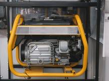 Fim portátil do gerador da gasolina acima foto de stock royalty free