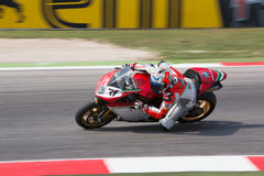 FIM Superbike Światowy mistrzostwo - Bezpłatnej praktyki 3th sesja Obraz Royalty Free