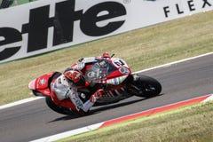 FIM Superbike Światowy mistrzostwo - Bezpłatnej praktyki 4th sesja Obraz Royalty Free