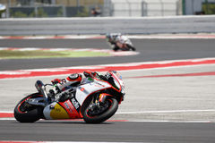 FIM Superbike Światowy mistrzostwo - Bezpłatnej praktyki 4th sesja Zdjęcia Stock
