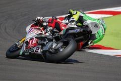 FIM Superbike mistrzostwa Światowego †'rasa 1 Obraz Stock
