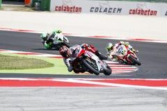 FIM Superbike mistrzostwa Światowego †'rasa 1 Zdjęcia Stock