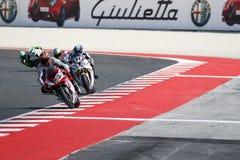 FIM Superbike mistrzostwa Światowego †'rasa 1 Fotografia Stock