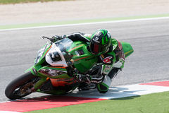 FIM-Superbike-Weltmeisterschaft - freie Praxis-4. Sitzung Stockbild