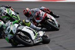 FIM Superbike Światowy mistrzostwo - rasa 2 Fotografia Stock