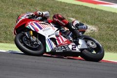 FIM Superbike Światowy mistrzostwo - rasa 2 Zdjęcie Stock