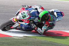 FIM Superbike World Championship - Free Practice 3th Session Stock Images