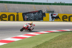 FIM Superbike World Championship - Free Practice 3th Session Stock Image