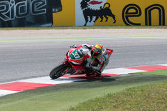 FIM Superbike World Championship - Free Practice 4th Session stock photos