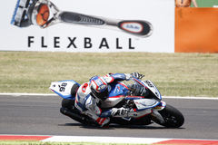 FIM Superbike World Championship - Free Practice 4th Session Stock Image