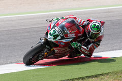 FIM Superbike World Championship - Free Practice 4th Session Stock Photo