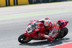 FIM Superbike World Championship - Free Practice 4th Session Royalty Free Stock Photos