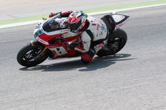 FIM Superbike World Championship - Free Practice 4th Session Royalty Free Stock Photo